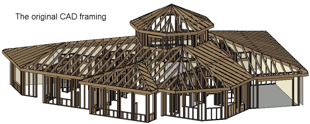 Home Construction Photos (Timber Framing) for our energy efficient ...