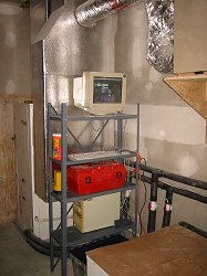 PC based monitoring station for Geothermal Heating & Cooling system.